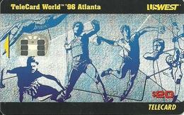 USA: USWest - TeleCard World '96 Exposition Atlanta. - Vereinigte Staaten