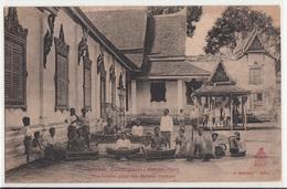 CPA- CAMBODGE  - Phnom-Penh- Orchestre Pour Les Danses Royales - 2scans - Cambodia