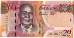 Botswana 20 Pula (P31) 2009 -UNC- - Botswana