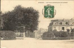 FIGEAC -  La Cour Exterieure De La Gare  161 - Figeac