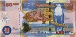 Zambia 50000 Kwacha (P48e) 2009 Sign 12 -UNC- - Zambie