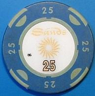 HK$25 Casino Chip. Sands, Macau. N39. - Casino