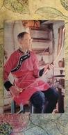 Russia. Buryaty People. Arch Maker. Old Postcard 1973 - Archery - Tir à L'Arc