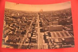 Milano Viale Tunisia 1954 + Timbro Targhetta X Triennale - Altre Città
