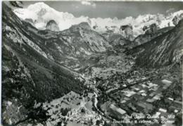 PRÈ SAINT ST. DIDIER  VALLE D'AOSTA  Panorama E Catena Monte Bianco - Italia