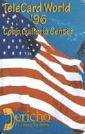 USA: Southern New England Bell - TeleCard World '96 Exposition Atlanta. Puzzle 1 - Vereinigte Staaten