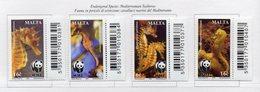 Malta - 2002 - Cavallucci Marini - 4 Valori - Nuovi - Con Bordo Di Foglio Codice A Barre - Vedi Foto - (FDC13904) - Malte