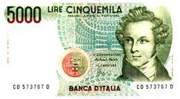 Billets >  Italie >  5000 Lire 1985 - [ 2] 1946-… : République
