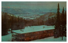 Idaho Schweitzer , Handsome Rustic Ski-Lodge - Etats-Unis