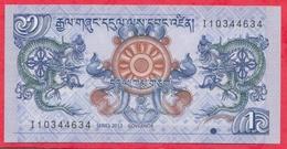 Bhoutan ---1 Ngultrum 1981---UNC--(12) - Bhutan