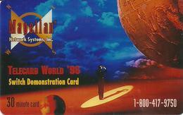 USA: Magellan Network Systems - TeleCard World '96 Exposition Atlanta. - Vereinigte Staaten