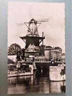 C.P.A. : AMSTERDAM : Molen Cz. Peterstraat, Stamp In 1959 - Amsterdam