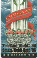 USA: Deltacom - TeleCard World '96 Exposition Atlanta. Puzzle 2 - Vereinigte Staaten