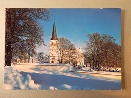 C.P.A. : NORGE : Furnes Kirke Fra 1708 , Stamp In 1979 - Norvège