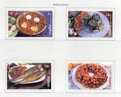 Malta - 2002 - Cucina Maltese - 4 Valori - Nuovi - Vedi Foto - (FDC13908) - Malte