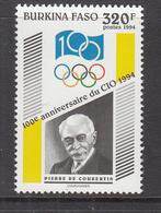 1994 Burkina Faso IOC Olympics Complete Set Of 1  MNH - Burkina Faso (1984-...)