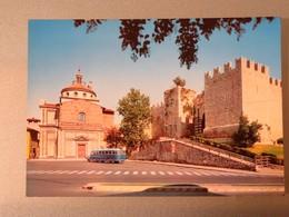 C.P.A. : Toscana : PRATO BASILICA DELLE CARCERI E CASTELLO, Bus - Prato