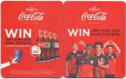 #D52-198 Viltje Coca-Cola - Sous-bocks