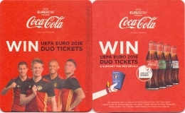 #D180-178 Viltje Coca-Cola - Sous-bocks