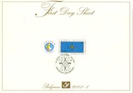 Belg. FDS 2000 / 2001-1 OBP/COB 2967 JubileumA.D. - 2001-10