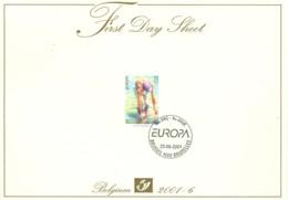 Belg. FDS 2001-6 OBP/COB 2989 Europa Water, Natuurlijke Rijkdom / L'eau, Richesse Naturelle - 2001-10