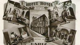 (87)   CPA  Cadiz  Hotel Roma    (Bon Etat ) - Cádiz