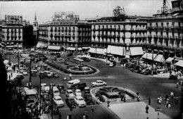 (87)   CPA  Madrid  Puerta Del Sol   (Bon Etat ) - Madrid