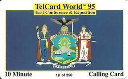 USA: Universal Communications Network  - TeleCard World '95 Exposition New York - Vereinigte Staaten