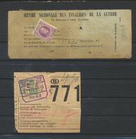 Timbre Sur Document - Marcophilie