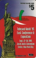 USA: TCM Associates  - TeleCard World '96 Exposition New York - Vereinigte Staaten