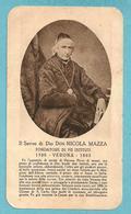 ED.  SLE - S.d.D. Don NICOLA MAZZA - Verona - E -  PR - Mm. 63 X 110 - Religione & Esoterismo