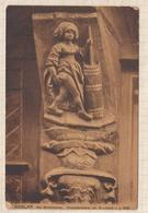 8AK4397 Goslar Holzschnitzerei Am Brusttuch  Die Butterhanne   2SCANS - Goslar