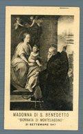 °°° Cassino - Madonna Di S. Benedetto 1947 °°° - Frosinone