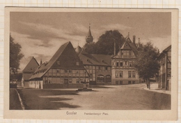 8AK4398 Goslar Frankenberger Plan   2SCANS - Goslar