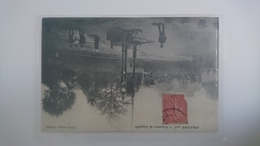 CPA CARTE POSTALE ANCIENNE ORLEANS EXECUTION DE LANGUILLE 1905 GUILLOTINE - Events
