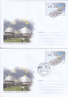 2019 , Moldova  Moldavie , European Court Of Human Rights - 60 Years , France , Strasbourg , Pre-paid Envelope - Moldavie