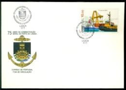 Portugal 1983 FDC 75 Jaar Haven Van Lissabon Mi 1583 - FDC
