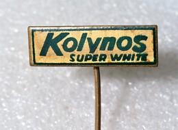 KOLYNOS SUPER WHITE Toothpaste Dental Cream YUGOSLAVIA / Tooth Paste, Pharmaceutical & Cosmetic Industry - Medical