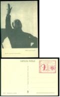 Italia 1920 Cartolina Postale Il Duce Parla Al Popolo Comizio Fascista In Piazza Sant'Elena - Roma (Rome)