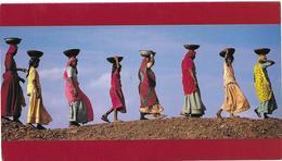 Villageoises Du Rajasthan - Vœux Bioproject - Médecins Du Monde - Asie