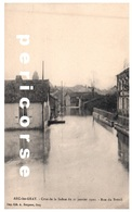 70   Arc Les Gray  Crue De La Saône Du 21 Janvier 1910  Rue De Breuil - Gray