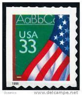 Etats-Unis / United States (Scott No.3283 - Flag And Chalkboard)+ [**] Exact Positionning - Etats-Unis