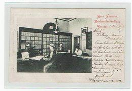 Dresden Briefmarkenhandlung  Hans Neumann  1902 - Dresden