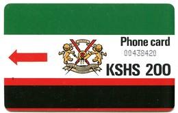 "KEN-09 - K.P.T.C. Logo 200 (No Notch & Letter ""T"") - Kenya"