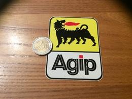 AUTOCOLLANT, Sticker «Agip» (carburant, Huile) - Autocollants
