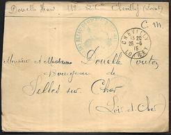LF B95  Correspondance Militaire De 1915 De Chevilly (45) - Oorlog 1914-18