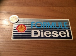 AUTOCOLLANT, Sticker «Shell - FORMULE Diesel» (carburant, Huile) - Autocollants