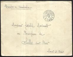 LF B97  Correspondance Militaire De 1914 Cachet Trésor Et Postes N°126 Double Cercle 11ème Division D'Infanterie - Marcofilie (Brieven)