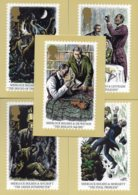 1993 Sherlock Holmes Set MINT PHQ156 - 1952-.... (Elizabeth II)