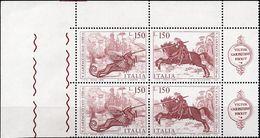REPUBBLICA 1976 - CARPACCIO, SAN GIORGIO E IL DRAGO - SERIE COMPLETA NUOVA MNH** - 6. 1946-.. Repubblica